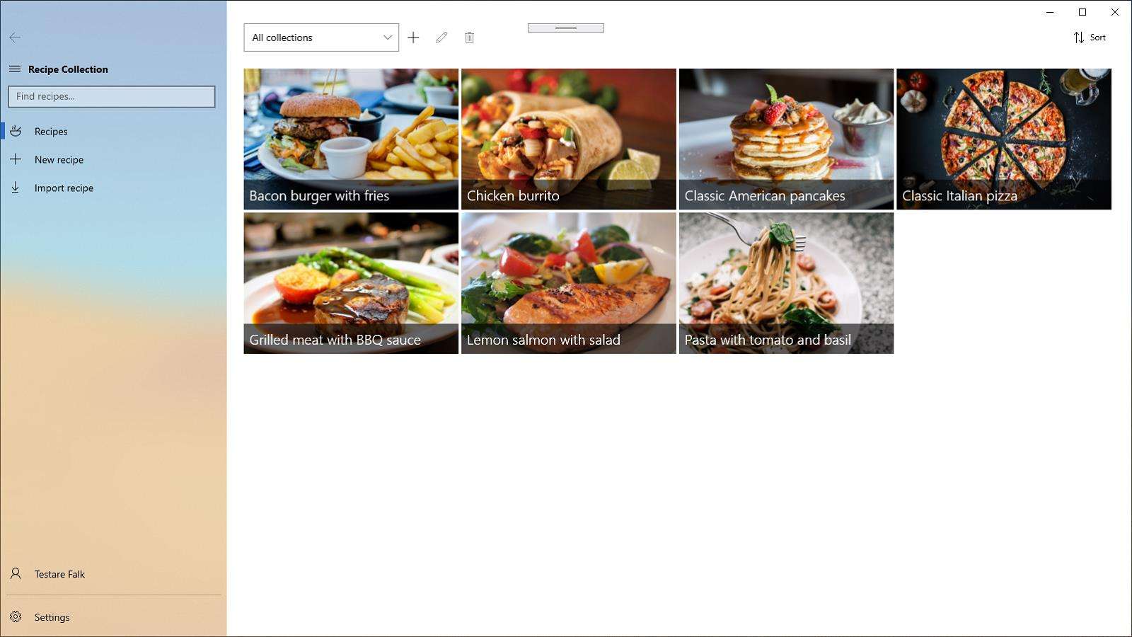 Preview image for Recipe Collection